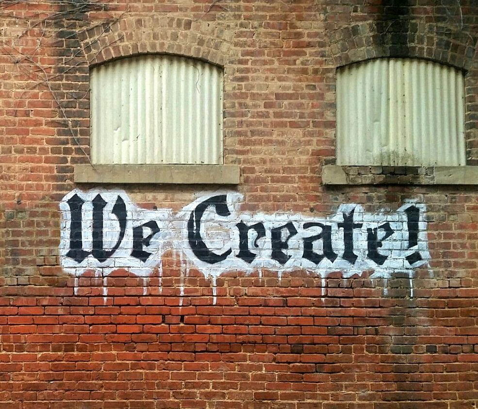 Together we create!